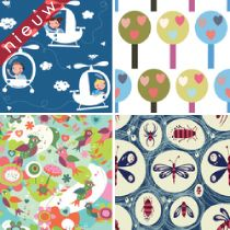Lovely #Kids #Shops ★ Exprezzit   Oeh leuk! Zelf stoffen (& behang) ontwerpen of bestaande ontwerpen bestellen, origineel #Kinderstoffen #design your own #fabrics