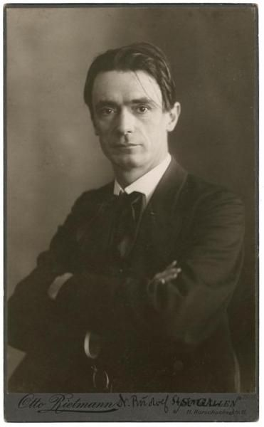 Rudolf Steiner (1861-1925), Austrian philosopher, social reformer, architect, and esotericist.