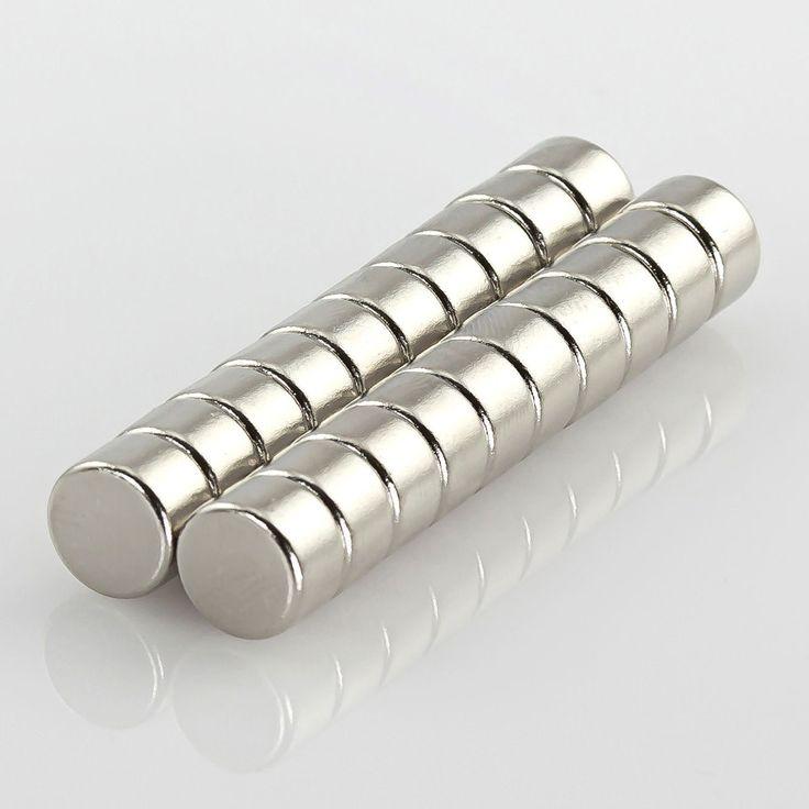 Neodym Magnet Extrem N42 ø 8 x 5 mm in Magnete  • Scheibenmagnete