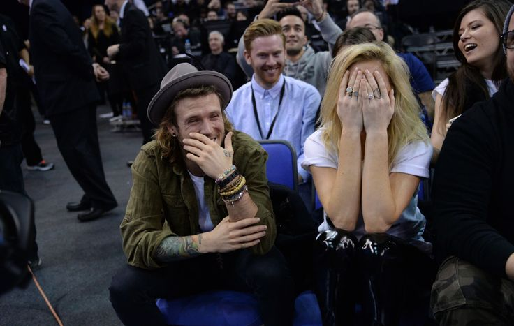 Dougie Poynter denies Ellie Goulding romance on The Jonathan Ross ...