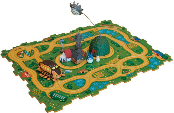 AmiAmi [Character & Hobby Shop]   My Neighbor Totoro - Cat Bus rail Puzzle -Matsugou Set-(Released)