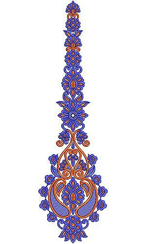 Ballroom Dress Embroidery Design