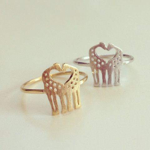 louun — Love Giraffes Ring @Ashlee Case