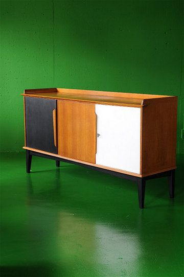 SIDE BOARD BELGIUM 1960-70's アンティーク ヴィンテージ サイドボード キャビネット ストレージ