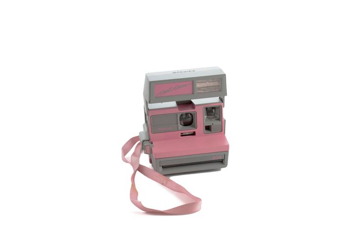 Polaroid 600 Cool Cam Working Tested Pink Vintage Polaroid 600 Land Camera Polaroid Instagram Selfie Photo Party Frame Gift Ideas Pink Cool