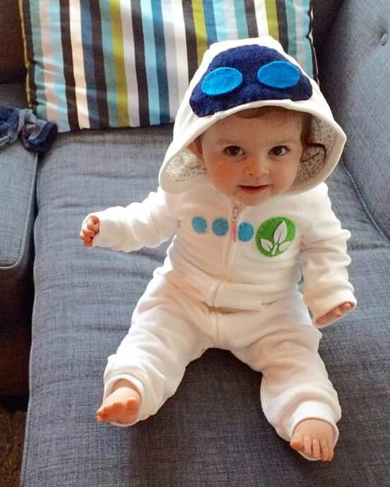 Baby eve costume from Wall-e