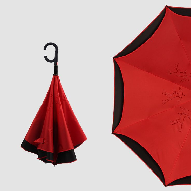 ==> [Free Shipping] Buy Best Hot Sale Black Double Layer Umbrella Reverse Parasol Auto Inverted Waterproof Ambrella Car Parachute Inverted umbrella Online with LOWEST Price   32800994944