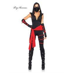 Wholesale Halloween Costumes - Women's Sexy Deadly Ninja Costume