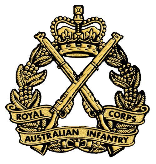 Royal Australian Infantry Corps.