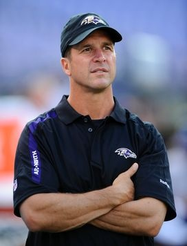 John Harbaugh. I have a not-so-secret crush on this man.
