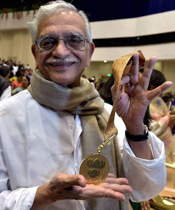 Gulzar National Film Awards, Writer Gulzar National Film Awards, Gulzar At National Film Awards,  Famous Lyrist Gulzar National Film Awards, Gulzar 61st National Film Awards