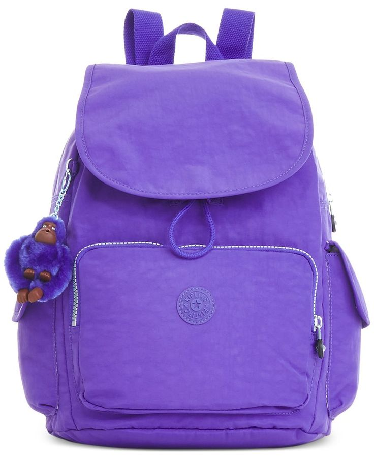 Pack it in and get going with this travel-ready backpack from Kipling. Rendered…