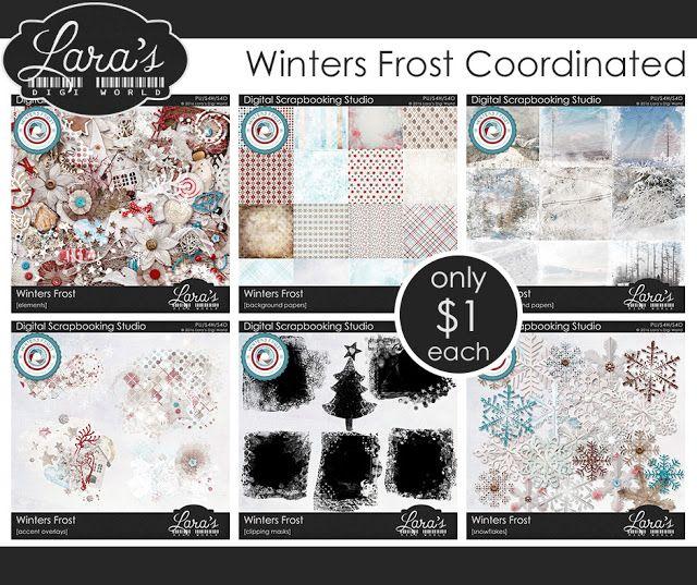 Lara´s Digi World - Digital Scrapbooking Designs: Winters Frost is released!
