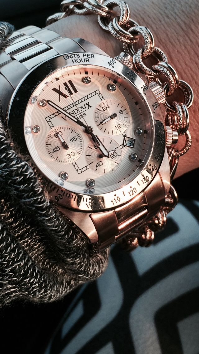 Love my Rose Watch. VX by VendouX