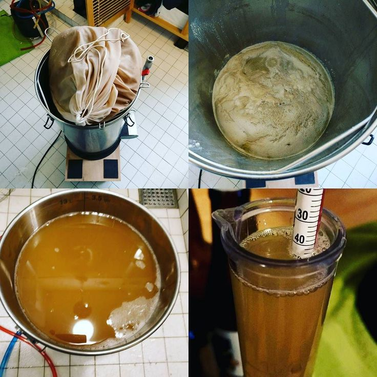 #brewday is done! This recipe for drop kick nate from a fellow brew tuber is legendary.  Can't wait for my hazified version to be ready.  #homebrewing #homebrew #youtube #craftbeer #beergeek