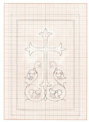 Line Drawing Embroidery : Best line drawings for embroidery crosses christian