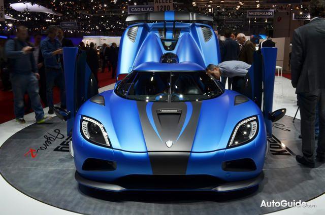 2013 Koenigsegg Agera R Rich in Carbon Fiber: 2012 Geneva Auto ...
