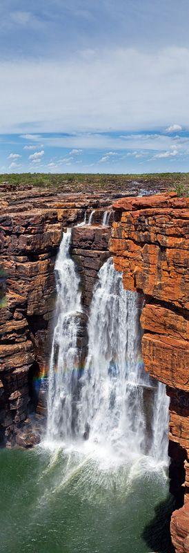 King George Falls. King George River Kimberley. Australia.
