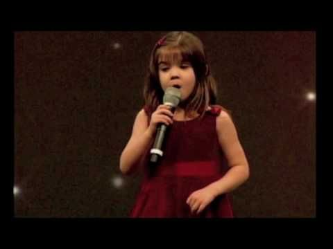 Kaitlin Maher 5 year old singing Ave Maria