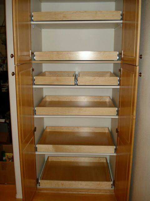 shelving for the pantry