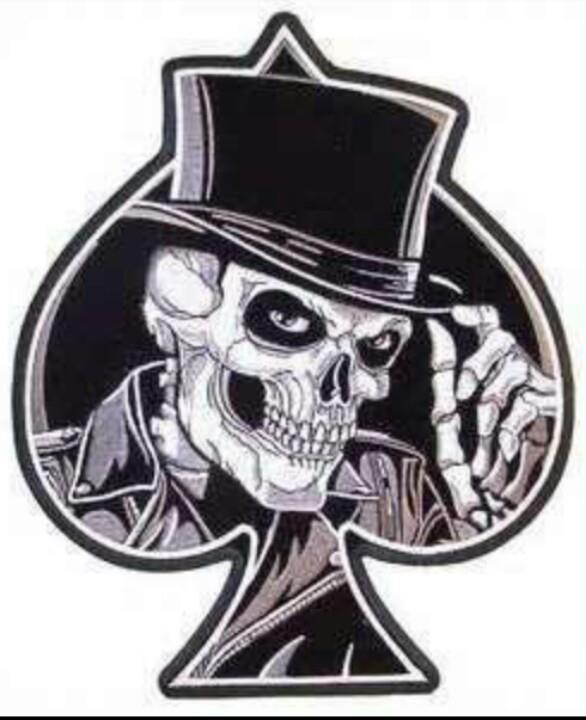 Ace of Spades skull ma...