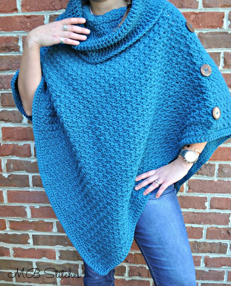 I love this poncho because it's so versatile and soooo easy! Even a beginner can execute this pattern and make it look amazingly beautiful. I love a pretty blue piece to layer with jeans and a while t shirt, but this would be gorgeous in any color. Please note that this post contains an affiliate link and I will earn a small commission to help support this blog when purchased through this link. I use all products I recommend because[Read more]