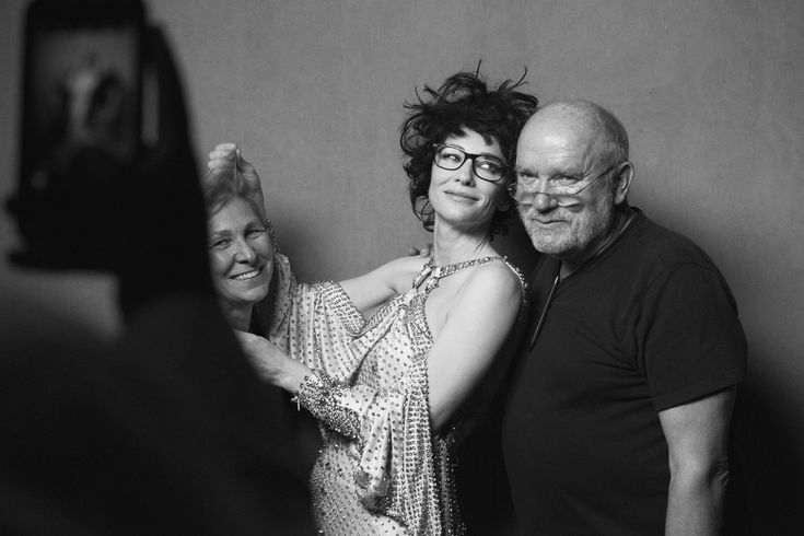 Behind the Scenes of W Magazine with Peter Lindbergh Photos   W Magazine