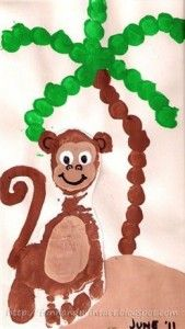 macaco 2 pintura mao