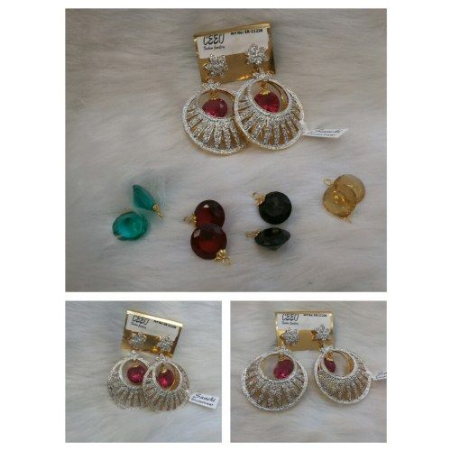 Changeable Ear Ring - Online Shopping for Earrings by Saachi