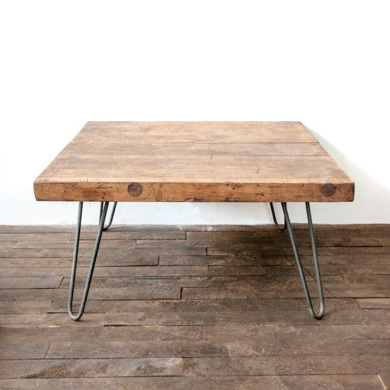 1000 ideas about butcher block dining table on pinterest for Small block coffee table