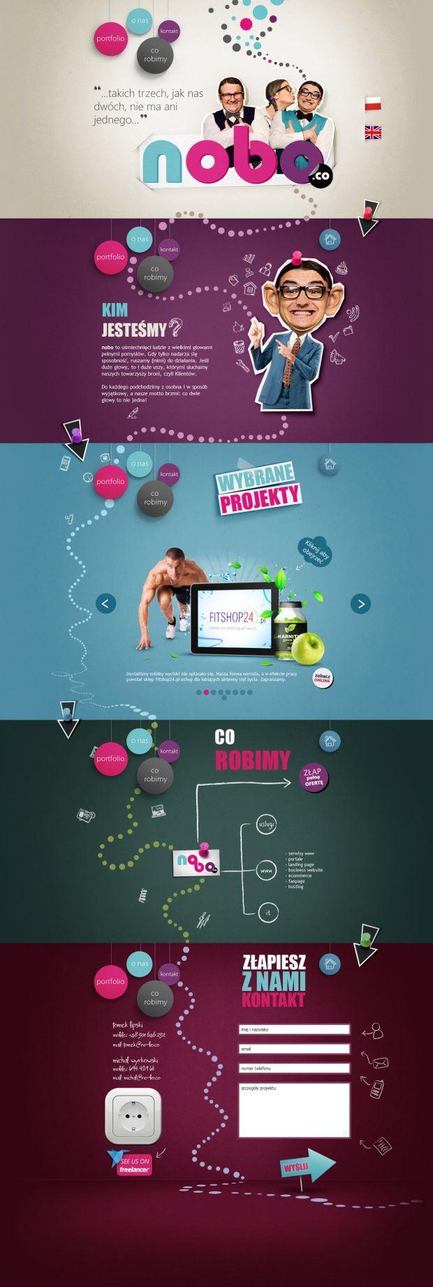 nobo agency - Best website, web design inspiration showcase