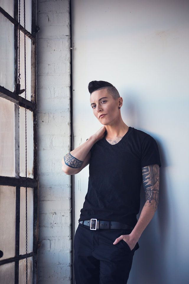 Androgynous Model: Mack Dihle by Alissa Pagels - Photographer
