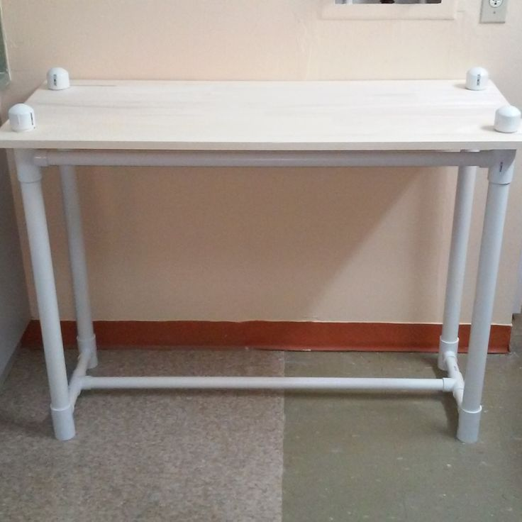 PVC Pipe and Wood Table                                                                                                                                                                                 More
