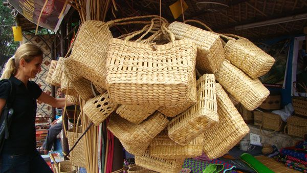 Woven Bamboo products Manipur handicrafts India