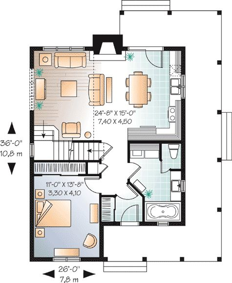 147 best home ideas images on pinterest home plans home for Canadian country house plans