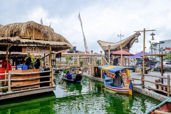 Pasar Terapung, Museum Angkut