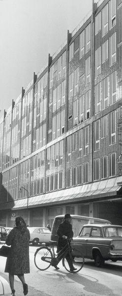 Edificio per l'Istituto Nazionale Assicurazioni - INA - Gio Ponti - itinerari - Ordine degli architetti, P.P.C della provincia di Milano