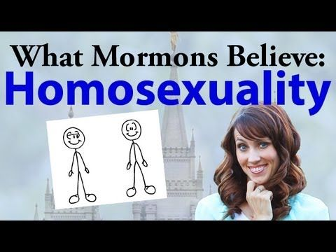 ▶ What Mormons Believe: Homosexuality - YouTube <3