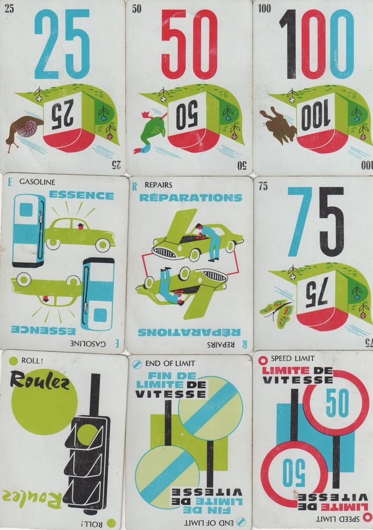 1000 mille bornes card game instructions