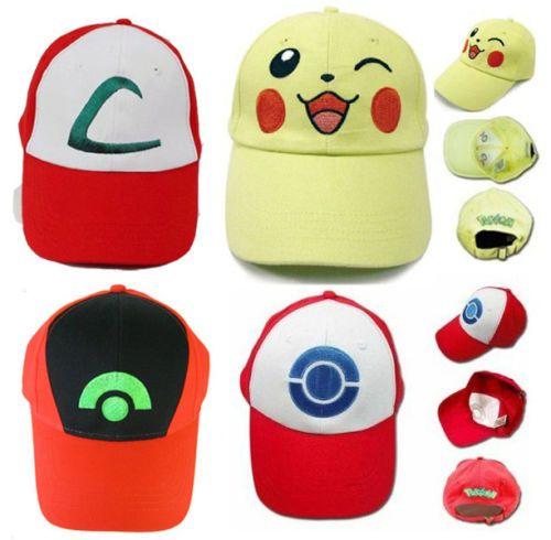 New #pokemon ash ketchum red hat cap trainer #cosplay fancy dress #costume uk…