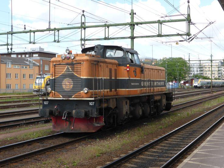 """TÅGAB T43 107 """"Great Northern"""" (ex, SJ T43 253)"""