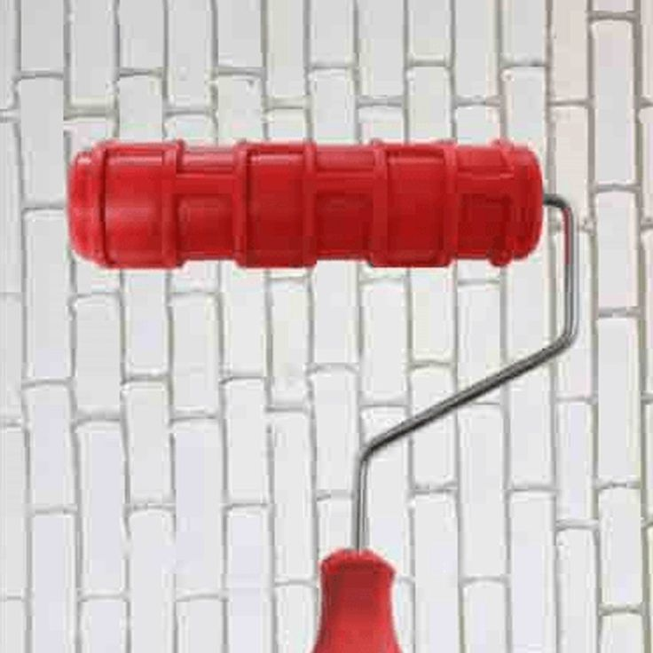 9 Special Effect Paint Rollers You Have to See Brick