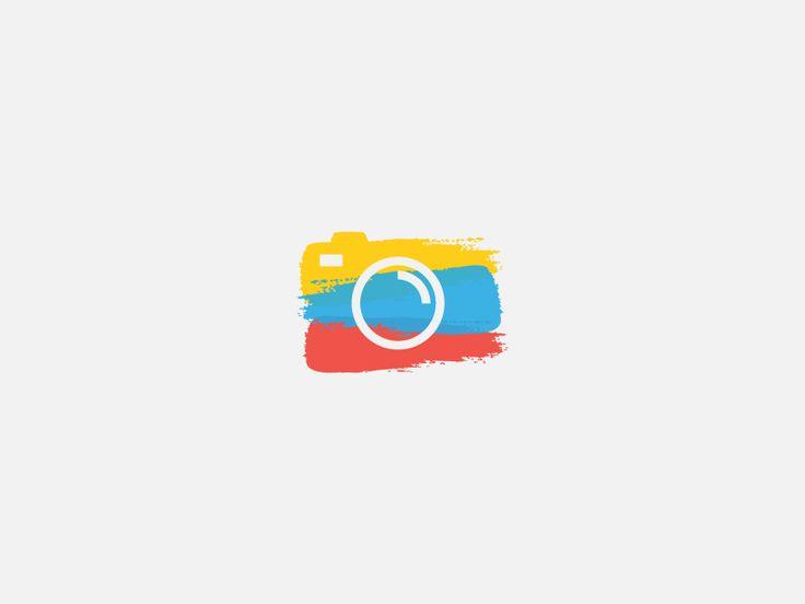 Dribbble - Camera icon by Dimitrije Mikovic