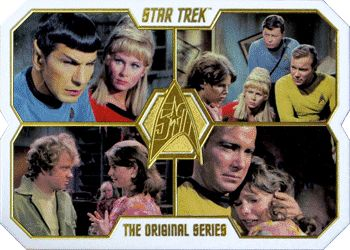 Wixiban   Star Trek Trading Card Guide   TOS 50th Anniversary