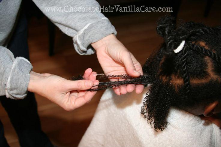 Chocolate Hair / Vanilla Care: Free Hair Week: 4a/4b Hair with Style!
