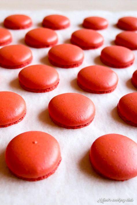 Les macarons inratables – La recette de base