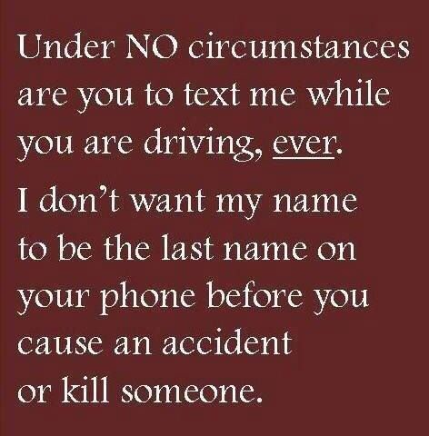 Texting And Driving Quotes Simple 18 Best Texting And Driving Images On Pinterest  Lettering Message