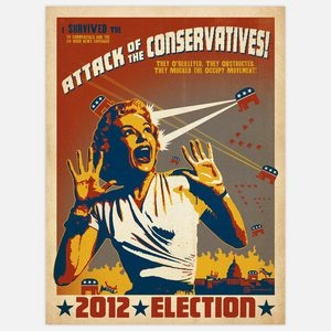 The Conservatives 18x24 now featured on Fab.Conservative, Joel Anderson, Art, Liberal 18X24, Attack, Prints, Posters, Design Group, Anderson Design