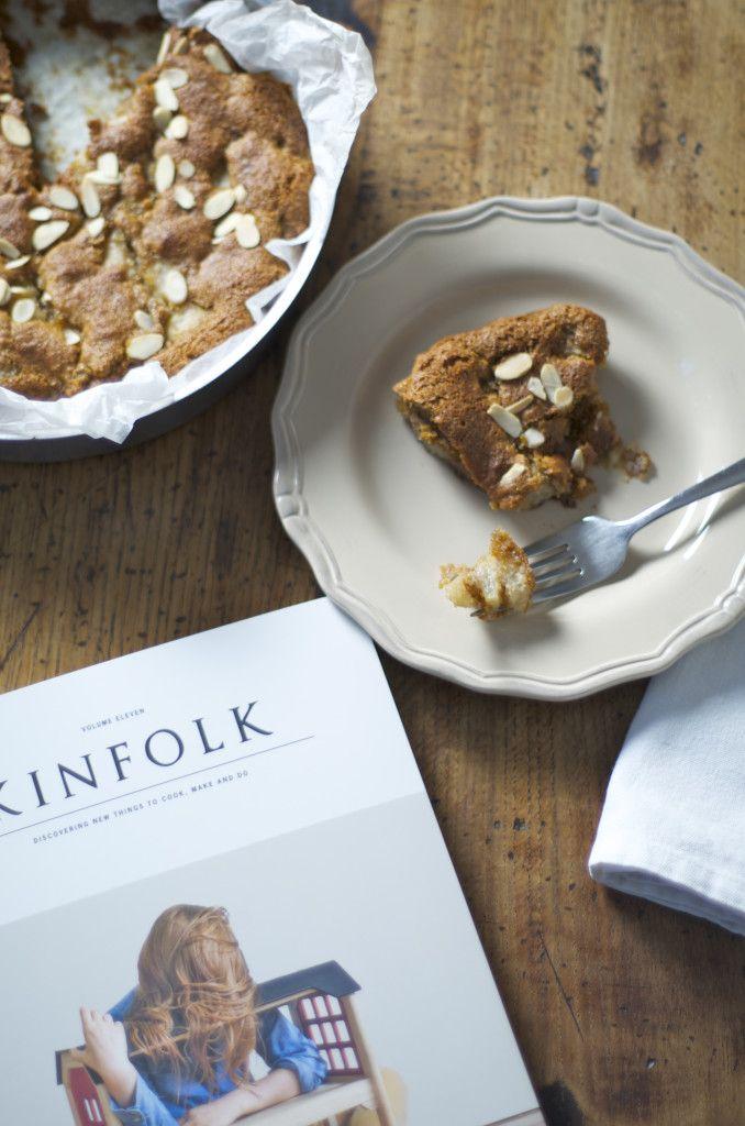 Pear and cinnamon glutenfree cake - torta senza glutine con pere e cannella