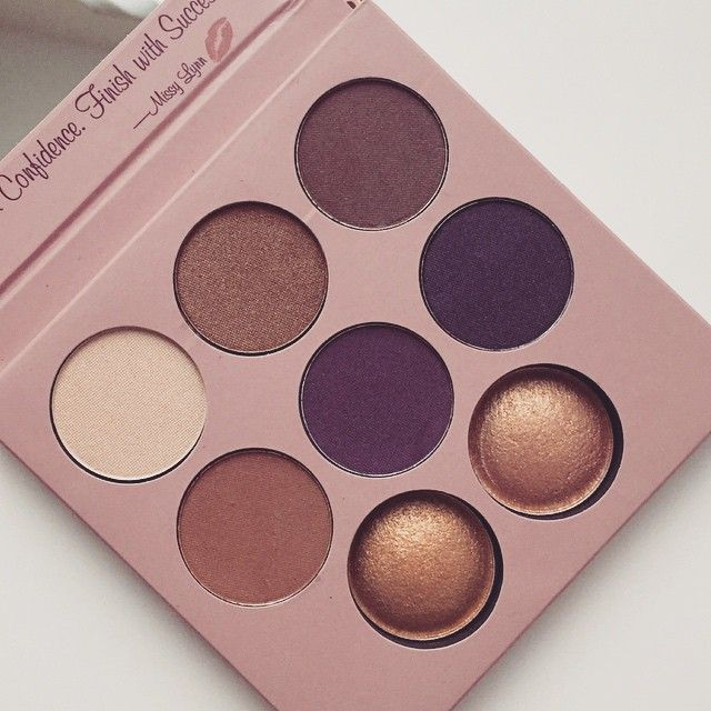 A close up of our Missy Lynn Palette by IG'er: misswhoeverur